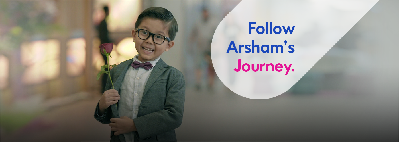 Follow Arsham's Journey.